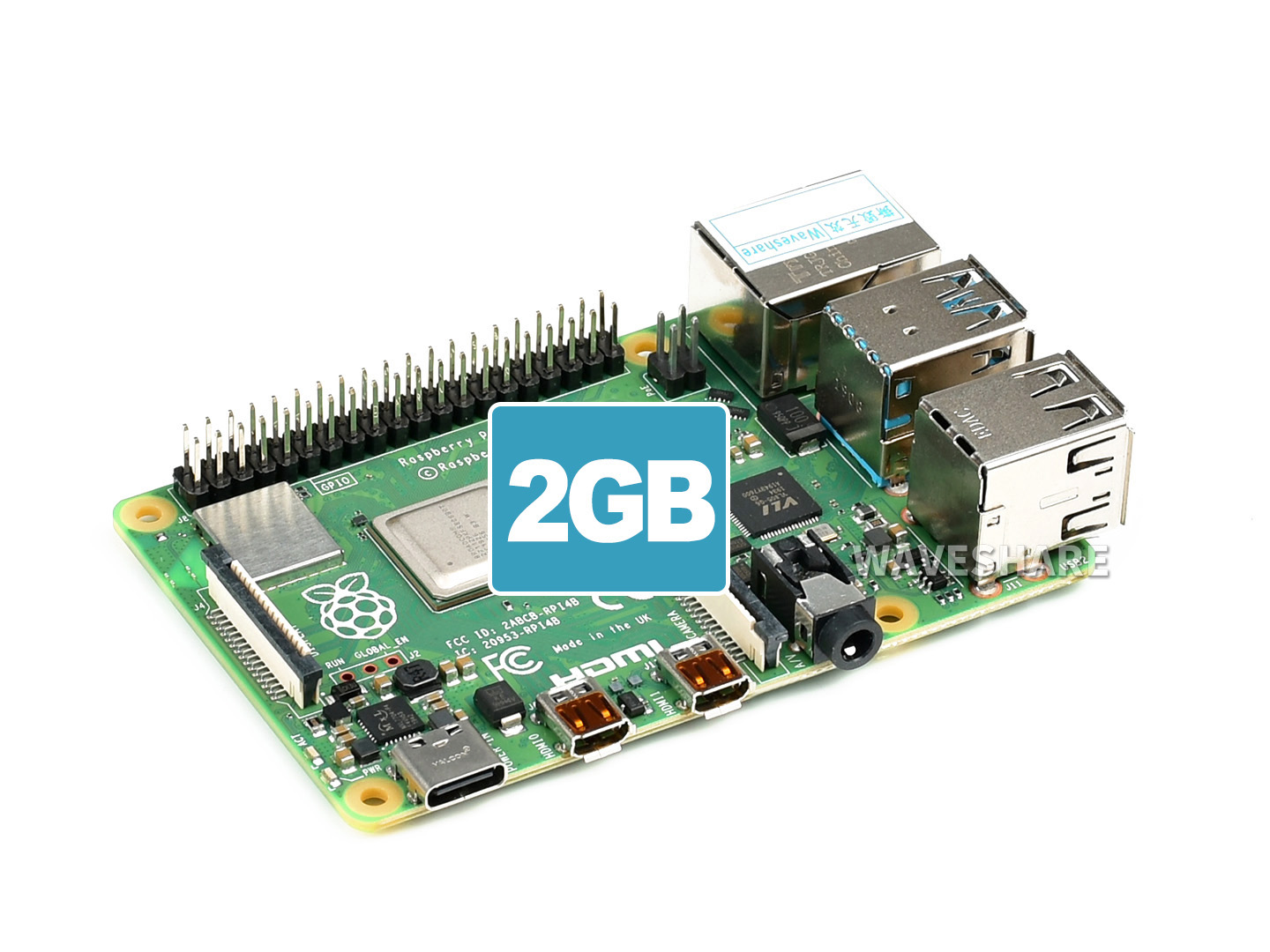 Raspberry Pi 4 Model B 2GB 树莓派4代B型