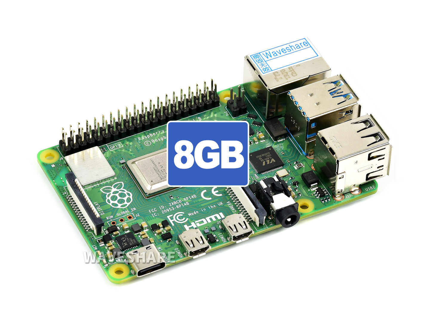 Raspberry Pi 4 Model B 8GB 树莓派4代B型
