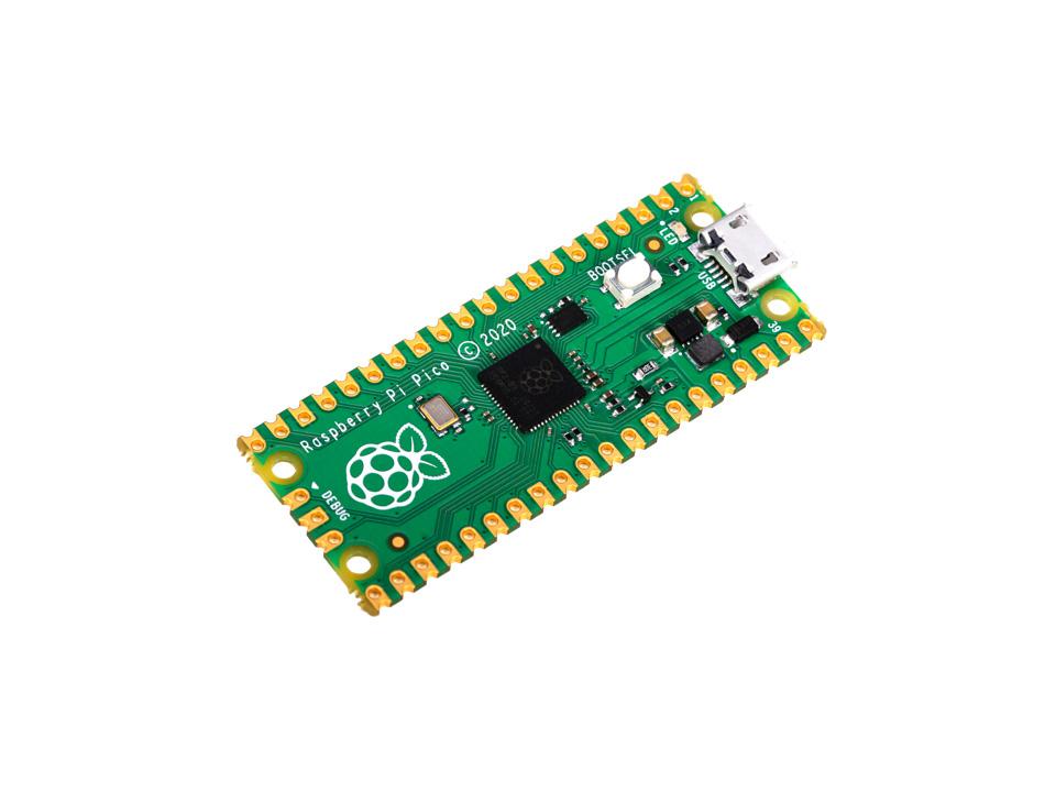 树莓派Pico Raspberry Pi Pico 微控制器开发板 基于官方RP2040双核处理器
