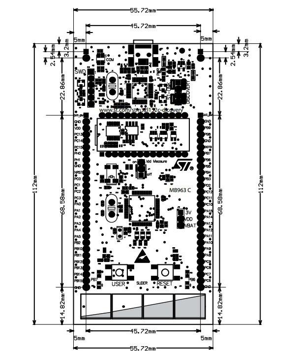 stm32l152c-disco 32l152cdiscovery 开发板 学习板