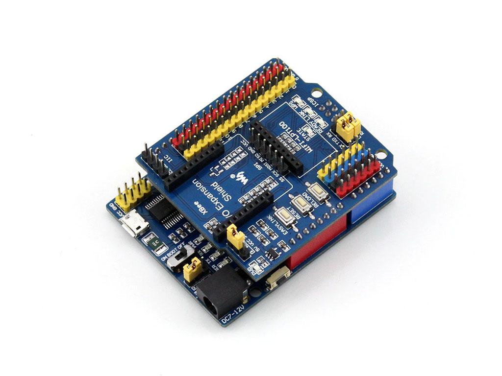 接上arduino io扩展板
