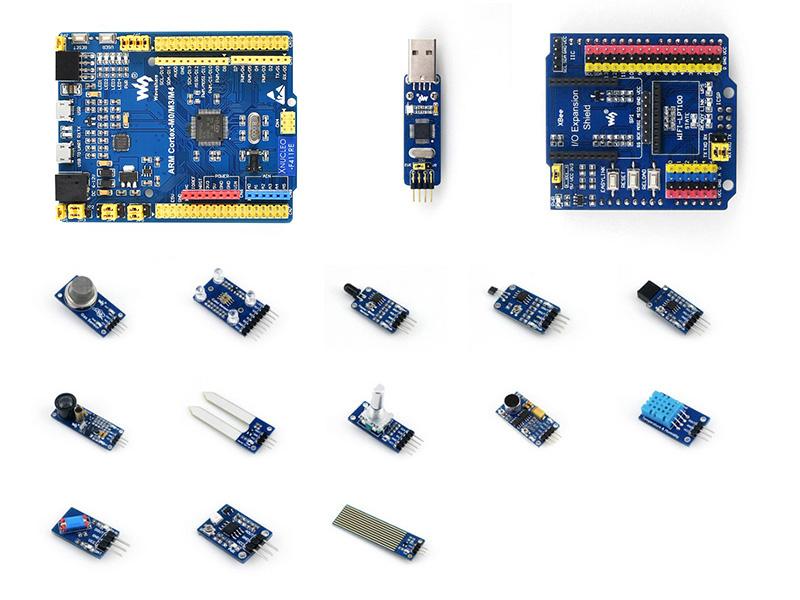 STM32F411RET6 MBED开发板  含13款传感器模块