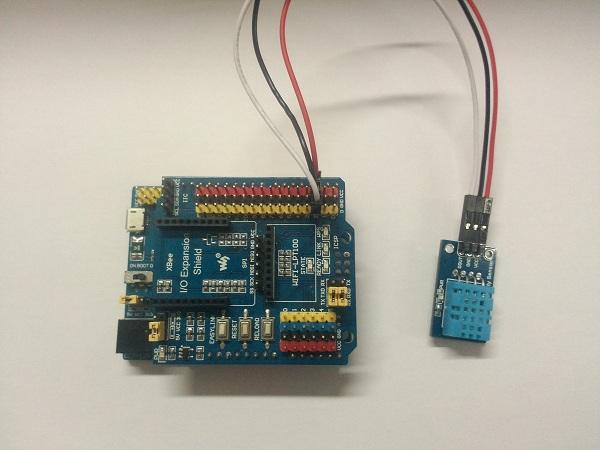 arduino系列教程七:dht11-温湿度传感器