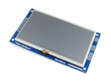 7inch Resistive Touch LCD (C)